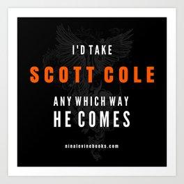 Scott Cole - Storm MC Art Print