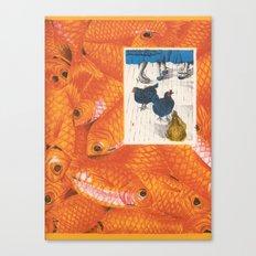 Fish 'n Chicks Canvas Print