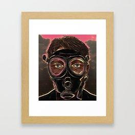 INFERNO MASK DOWNFALL Framed Art Print
