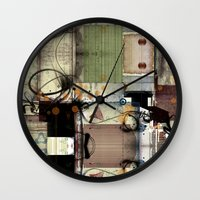 picasso Wall Clocks featuring Everyday Picasso by Robin Curtiss