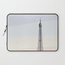 Geometric Eiffel Tower, Paris France Laptop Sleeve