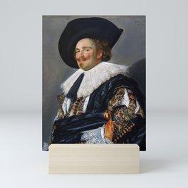 Frans Hals - Laughing Cavalier - Renaissance Fine Art Retro Vintage Oil Painting Mini Art Print