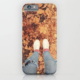 Autumn vibe iPhone Case