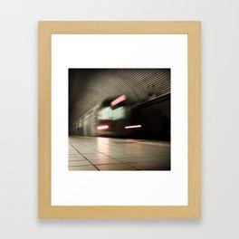 Warp Tunnel Framed Art Print