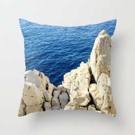 Hard Over Soft Throw Pillow