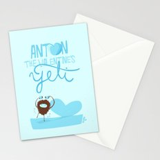 Anton, the Valentine´s Yeti Stationery Cards