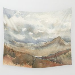Old Stagecoach route to Nutt Wall Tapestry