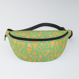 Triangles Pattern Fanny Pack