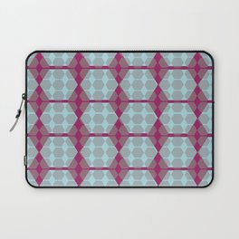 pink and gray geo Laptop Sleeve