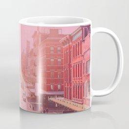 Rose Colored Village  Coffee Mug