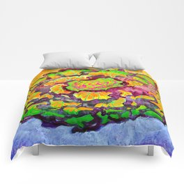 Cabbage Rose Comforters