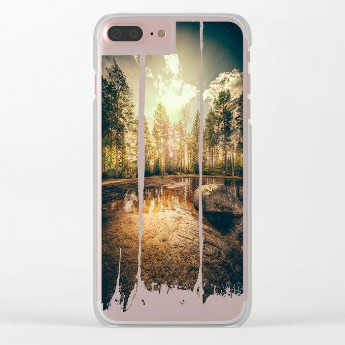Sonne II Clear iPhone Case