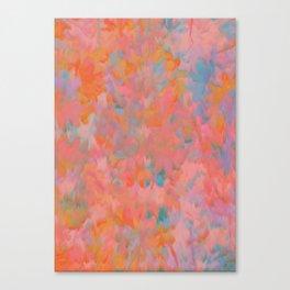 Ikat Twist Canvas Print