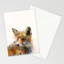 The cunning Fox Stationery Cards