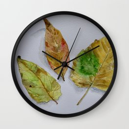 A perfect threesome Wall Clock