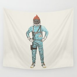 Zissou In Space Wall Tapestry