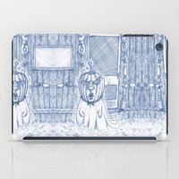 plain iPad Cases featuring Blue Inhabited Plain by Ben Geiger