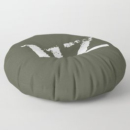 11Z Infantry MOS Floor Pillow