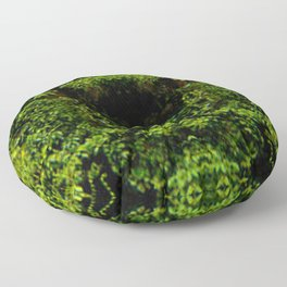 Watching Camouflage Floor Pillow