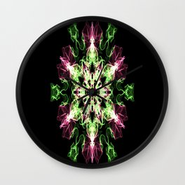 Watermelon Snowflake Wall Clock