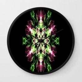 Watermelon Snowflake Wall Clock