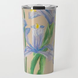 Sunday Morning Iris Travel Mug