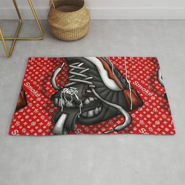 Sneaker Smoké Red Royal Stain Rug