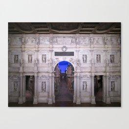 Teatro Olimpico Canvas Print
