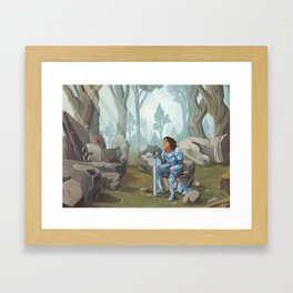 After Battle Framed Art Print