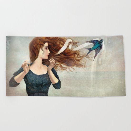 The Little Thief Beach Towel