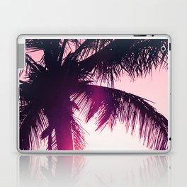 pink palm tree silhouettes kihei tropical nights Laptop & iPad Skin