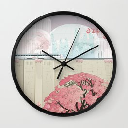The Lands of Demos Wall Clock