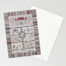 Chateau Hexagon Stationery Cards