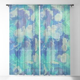 Ice Cold Forest Sheer Curtain