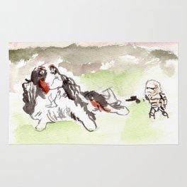 When Sand Trooper meet the Dog Rug
