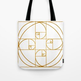 Golden Sprout Tote Bag