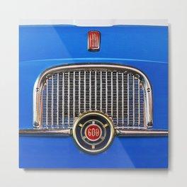 Fiat 600 Metal Print