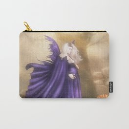 Pregnant Fairy Carry-All Pouch
