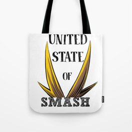 United State Of Smash, All Might Tote Bag