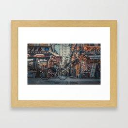 TOKYO BLOOM - TIME WHEEL Framed Art Print