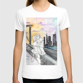 Kissing on the Bridge T-shirt