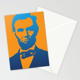 Abraham Lincoln Pop Art Stationery Cards