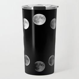 Phases of the Moon Travel Mug