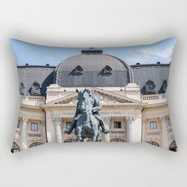Rouamnia, Central University Library Carol I, Bucarest Rectangular Pillow
