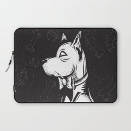 Family Portrait Dog Laptop Sleeve