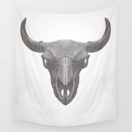 American Bison Skull Wall Tapestry