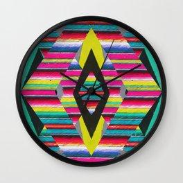 Serape Wall Clock