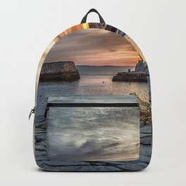 Lobster Trap sunset at lanes cove Backpack