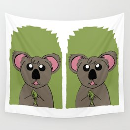 Mr Koala Wall Tapestry