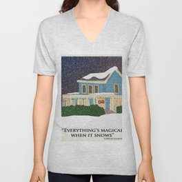 Gilmore girls house Unisex V-Neck